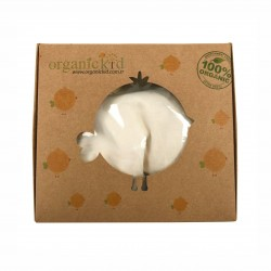 Бебешки комплект Organic Kid от 5 части вбяло за момичета/момчета. - 10082-012 - view 7