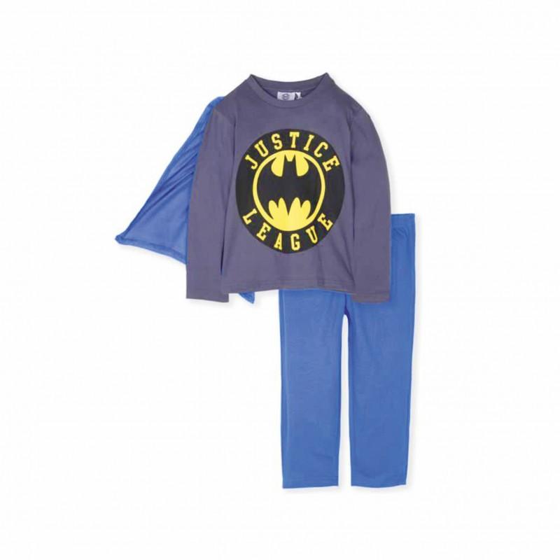 Детска пижама Batman с дълъг ръкав за момчета. - RH2170 Batman-98 - view 1