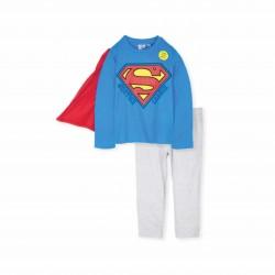 Пижама Superman с дълъг ръкав