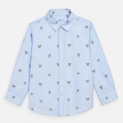 Риза Mayoral с дълъг ръкав и щампи за момче. - 3176-010-110 - view 2