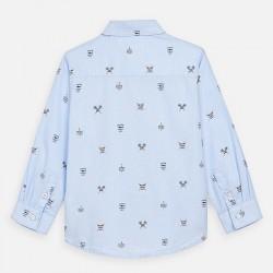 Риза Mayoral с дълъг ръкав и щампи за момче. - 3176-010-110 - view 3