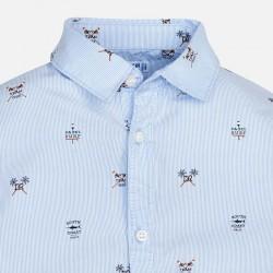 Риза Mayoral с дълъг ръкав и щампи за момче. - 3176-010-110 - view 4