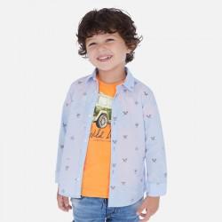 Риза Mayoral с дълъг ръкав и щампи за момче. - 3176-010-110 - view 5
