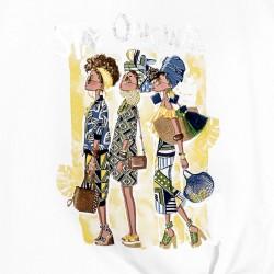 Тениска Mayoral с къс ръкав и възел за момиче. - 6020-014-152 - view 3