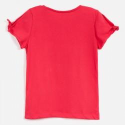 Тениска Mayoral с къс ръкав и рисунка сандали за момиче. - 6018-028-140 - view 2