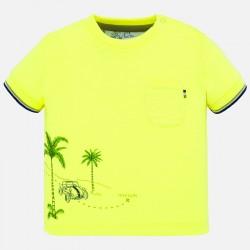 Тениска Mayoral с къс ръкав и джоб за бебе момче. - 1050-069 - view 1