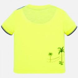 Тениска Mayoral с къс ръкав и джоб за бебе момче. - 1050-069 - view 2