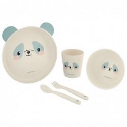 Сет за хранене бамбук Panda...