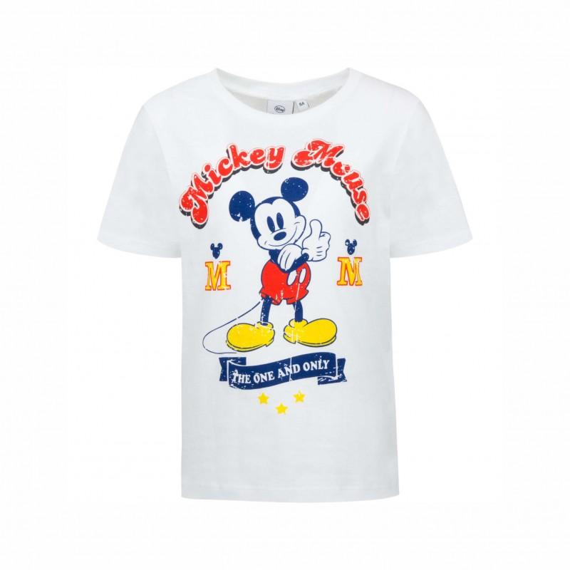 Детска тенискаMickey Mouse с къс ръкав за момчета. - SE1366 white-116 - view 1