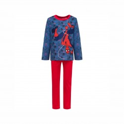 Пижама Spiderman с дълъг ръкав - HS2042 blue - view 1