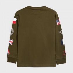 Детска тениска Mayoral с дълъг ръкав за момчета - 7048-085 - view 3