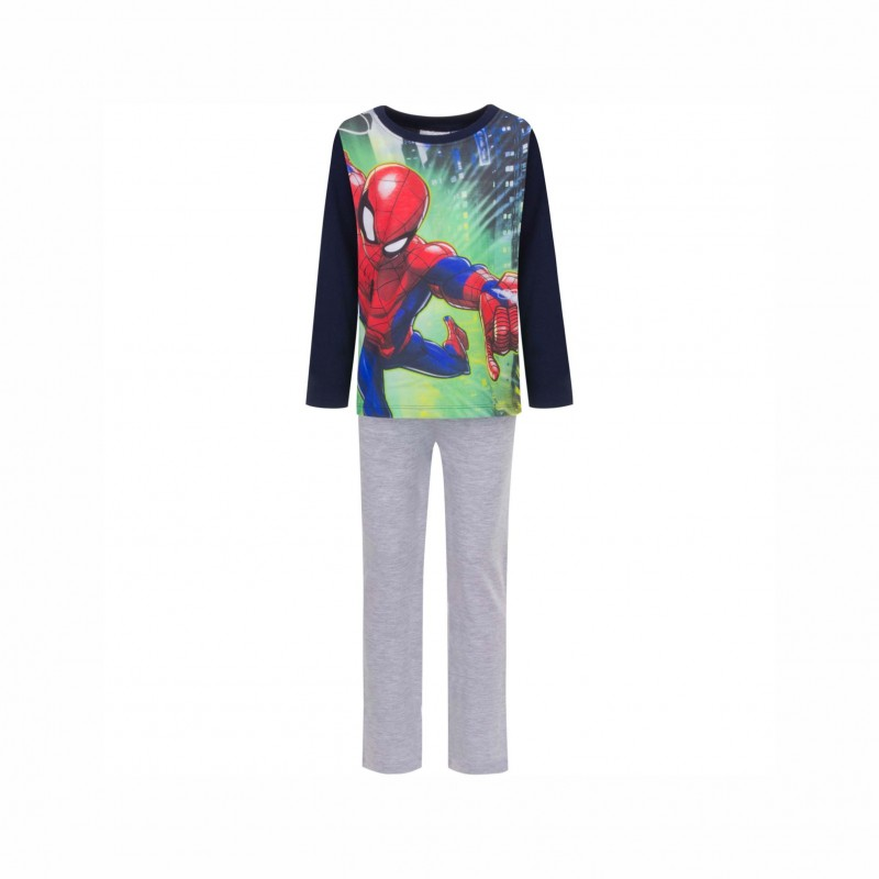 Детска пижамаSpiderman с дълъг ръкав за момчета. - RH2078 dark blue-116 - view 1