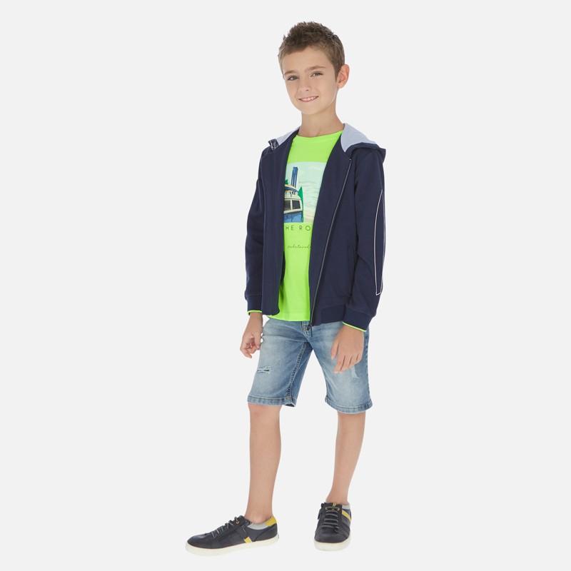 Устойчиви дънкови бермуди Mayoral за момче. - 6243-069-152 - view 1