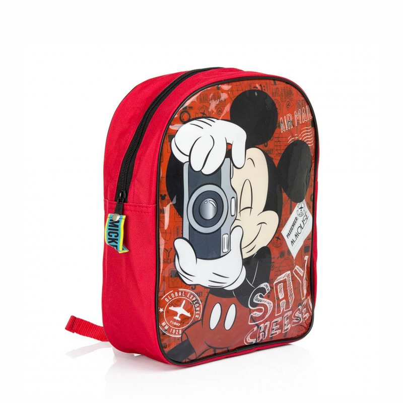 Детска Раница Mickey Mouse (Мики Маус) 32см за момчета - DSM1-8039 - view 1