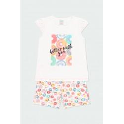 Пижама Boboli с къс ръкав - 922070-1100 - view 1