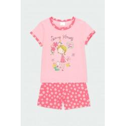 Пижама Boboli с къс ръкав - 922014-3668 - view 1