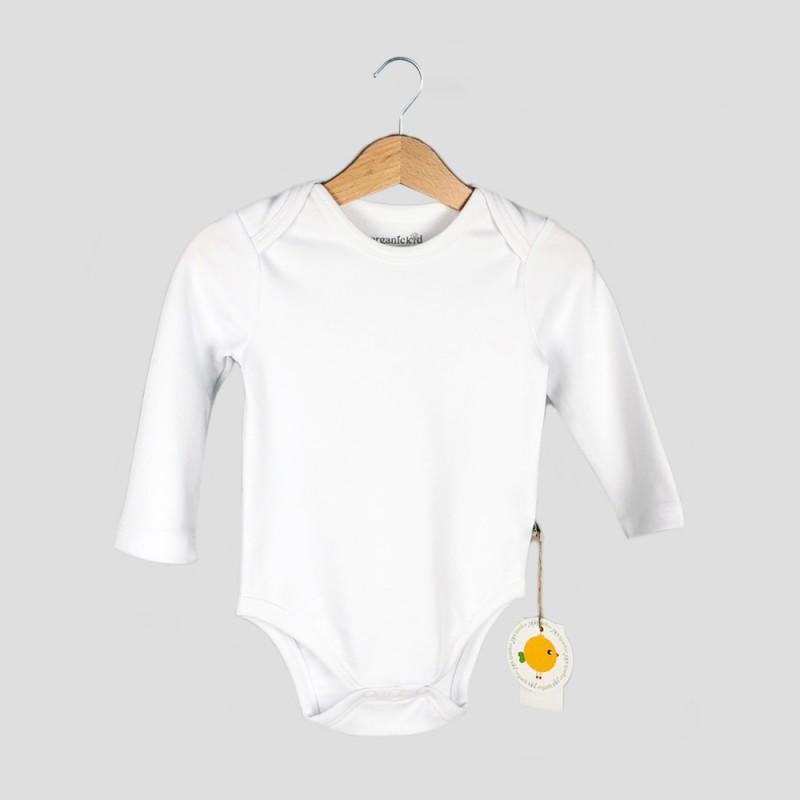 Бебешко боди Organic Kid сдълъг ръкав за момичета/момчета. - 10104-027-68 - view 1