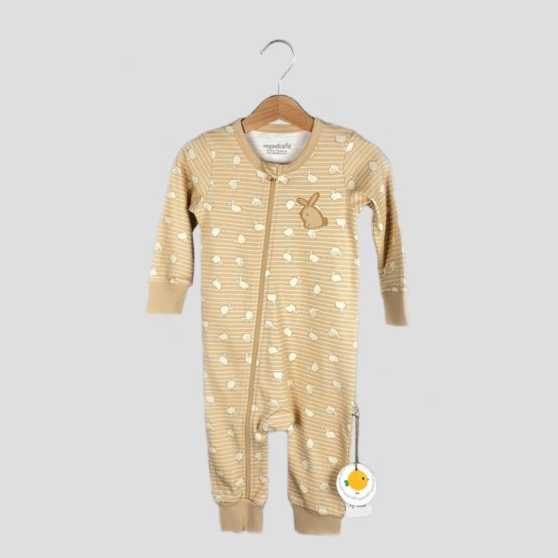Бебешки гащеризонOrganic Kid за момичета/момчета. - 10158-025-92 - view 1