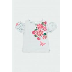 Тениска Boboli къс ръкав - 722113-4547 - view 1