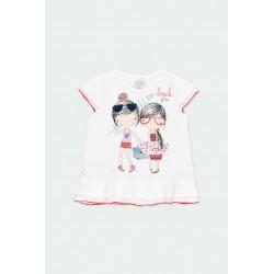 Тениска Boboli с къс ръкав - 212128-1100 - view 1