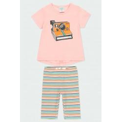 Комплект Boboli с тениска... - 222084-3714 - view 1