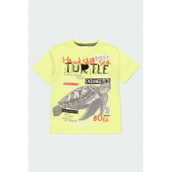 Тениска Boboli къс ръкав - 592040-4543 - view 1