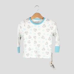 Бебешка пижамаOrganic Kid с дълъг ръкав с апликации за момчета. - 10008-044-62 - view 2