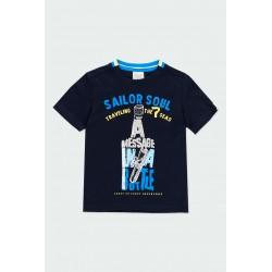 Тениска Boboli къс ръкав - 502153-2440 - view 1