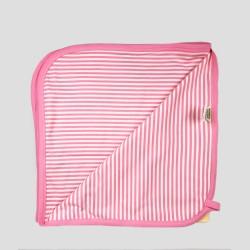 Бебешки комплект за изписванеOrganic Kid от 7 части в розово и жълто с апликации за момичета. - 10235-018 - view 7