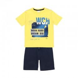 Комплект Boboli с тениска... - 502254-1146 - view 1