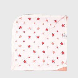 Бебешки комплект за изписванеOrganic Kid от 7 части с апликации на звездички за момичета. - 10235-002 - view 7