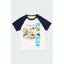 Тениска Boboli къс ръкав - 502063-1100 - view 1
