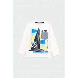Тениска Boboli дълъг ръкав - 502018-1100 - view 1