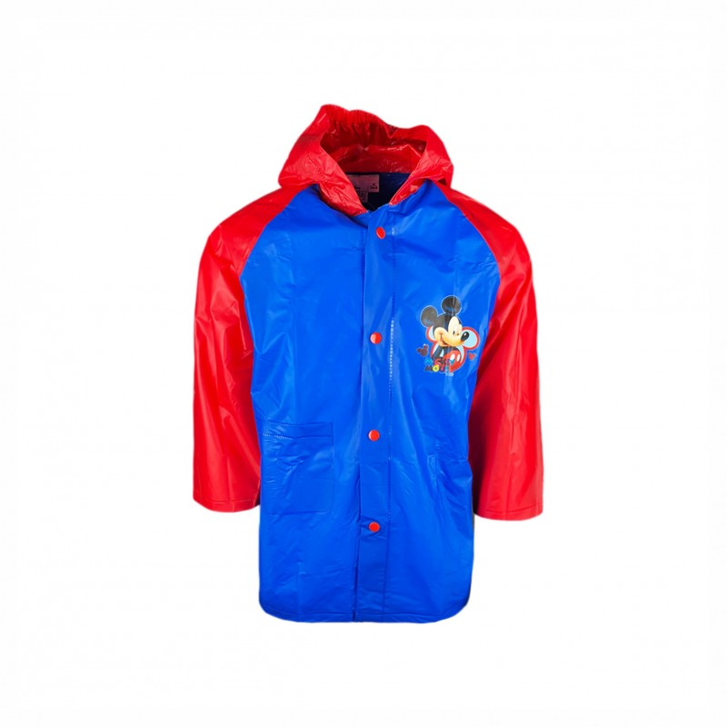 Детски дъждобран Mickey Mouse (Мики Маус) за момчета. - 750-158 red-104 - view 1