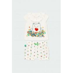 Комплект Boboli с тениска... - 112060-1111 - view 1