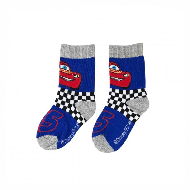 Детски чорапи McQueen (Cars) за момчета. - ER0612 blue-31 - view 1