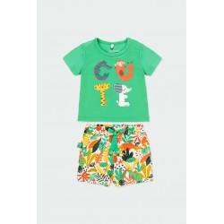 Комплект Boboli с тениска... - 112138-4529 - view 1