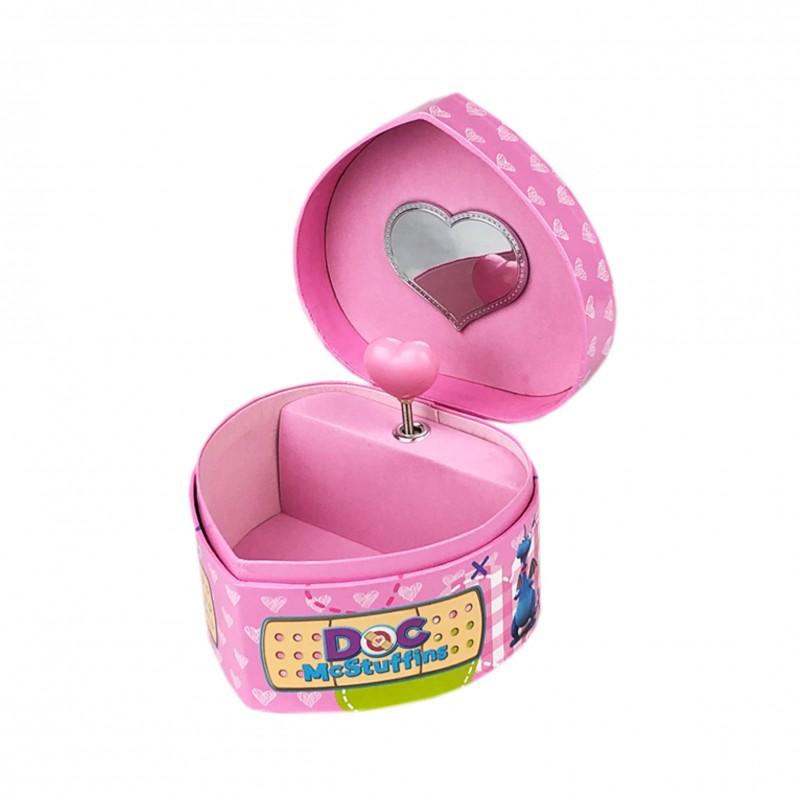 Детска музикална кутия за бижута Doc McStuffins (Доктор МакСтъфинс) за момичета. - WD91065 - view 1