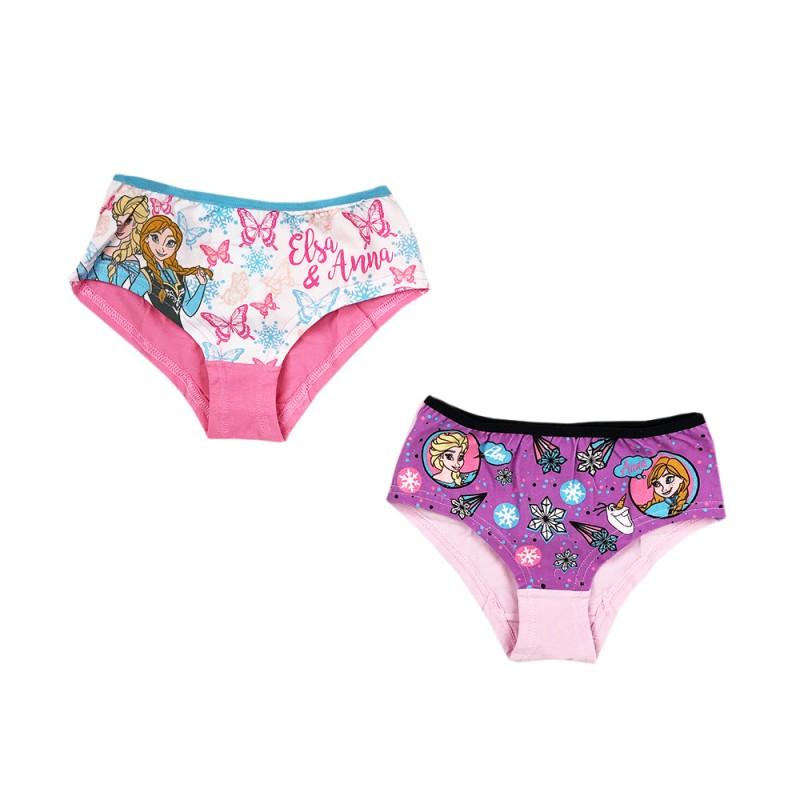 Детски комплект 2бр. бикини Frozen (Замръзналото кралство) за момичета. - RH3011 purple-122 - view 1