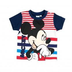 Тениска Mickey Mouse с къс... - ER0158 blue-68 - view 1