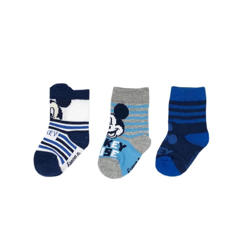 Комплект 3 чифта чорапи Mickey Mouse (Мики Маус) за момчета. - SE0644-1-612 - view 1