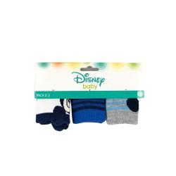 Комплект 3 чифта чорапи Mickey Mouse (Мики Маус) за момчета. - SE0644-1-612 - view 2
