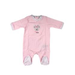 Бебешки комплектMinnie Mouse (Мини Маус) от 4 части за момичета - гащеризон, шапка, лигавник и подложка за преповиване. - ER0354 - view 2