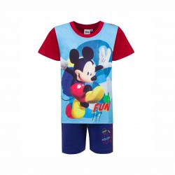 Пижама Mickey Mouse с къс... - 831-165 red-122 - view 1