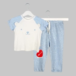 Пижама Bebetto с къс ръкав