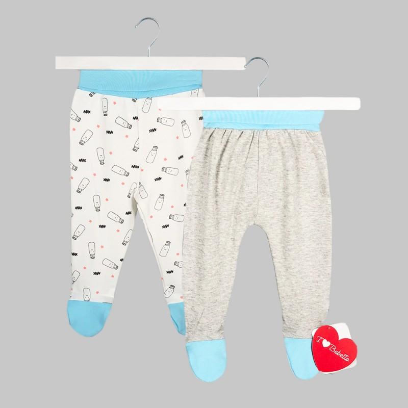 Бебешки комплект 2бр.ританкиBebetto за момчета. - T1999-68 - view 1
