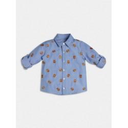 Риза Guess с дълъг ръкав