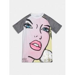 Тениска Guess с къс ръкав - J1RI09K5M20TWHT - view 1