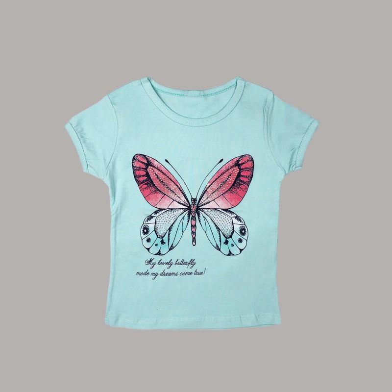 Детска тениска Keiki с къс ръкав за момичета. - 51219-033 - view 1