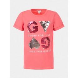 Тениска Guess с къс ръкав - J1GI06K6YW1C448 - view 1